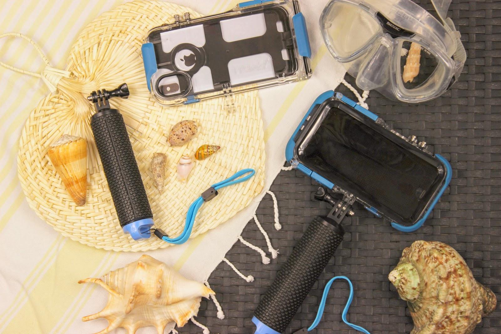 proshotcase, coque iphone pour aller sous l'eau, les petites bulles de ma vie