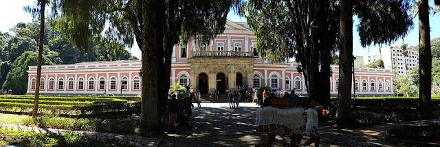 Museu Imperial, jardins, palácio imperial, Rio de Janeiro