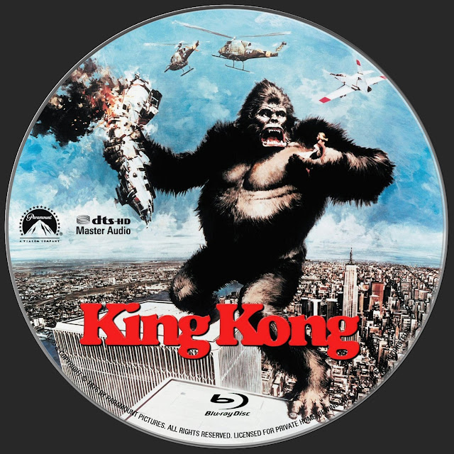 King Kong Bluray Label