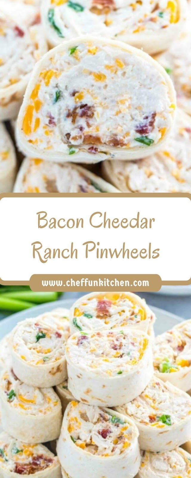 Bacon Cheedar Ranch Pinwheels