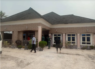 Yahoo Kingpin 'Nwanta' Arrested By EFCC, Mansion And Fuel Station Seized (Photo)