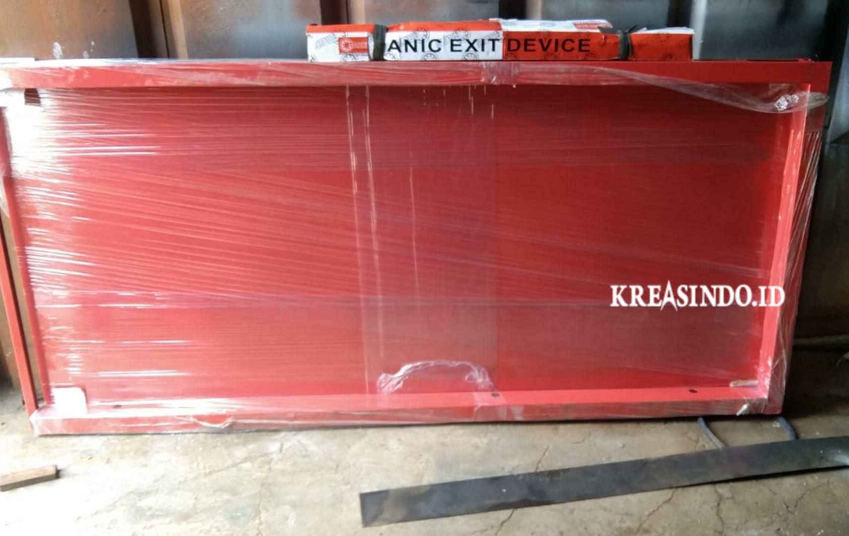 Pintu Emergency pesanan CV BMS untuk di Jakarta [ Repeat Order ]