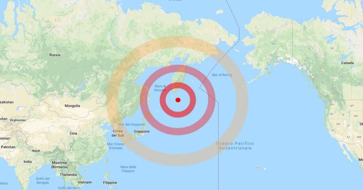 Russia Terremoto Di Magnitudo 7 5 Sulla Penisola Della
