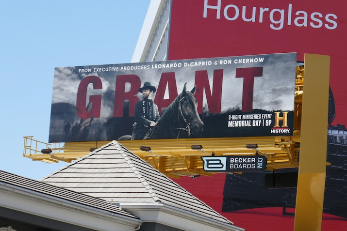 Grant series launch billboard