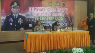 73 Anak Ikuti Sunatan Massal Yang Di Gelar Polres Cirebon