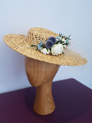 Patouche chapeaux mariée www.patouchechapeaux.com