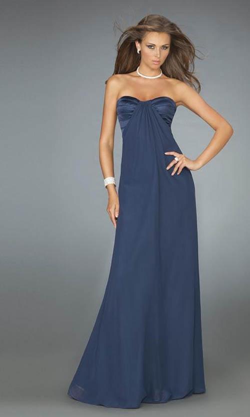 Design model best prom strapless long dress | Wedding ...