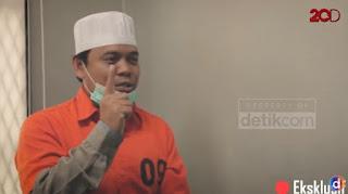 Wawancara dari Balik Penjara, Gus Nur: Jangan Harap Saya Jera, Saya Pertanggungjawabkan Dunia Akhirat