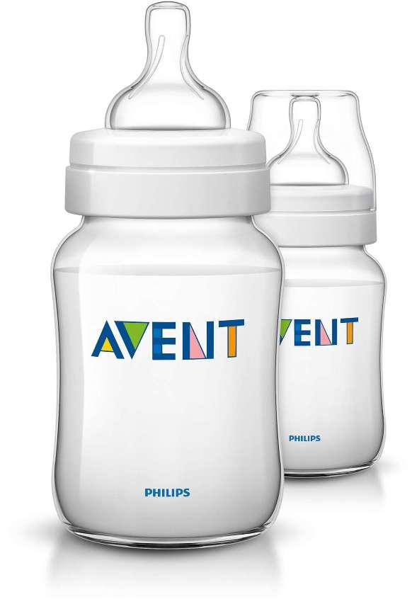 Botol susu avent klasik 1 bulan 260ml