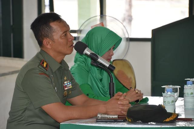Danrem 141/Tp Beri Arahan Ke Istri TNI AD di Kompi B Yonif 726/Tml, Ini Inti Arahannya