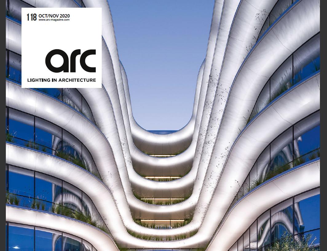 Bìa cuốn Tạp chí Arc-Lighting-Architecture–October-November 2020