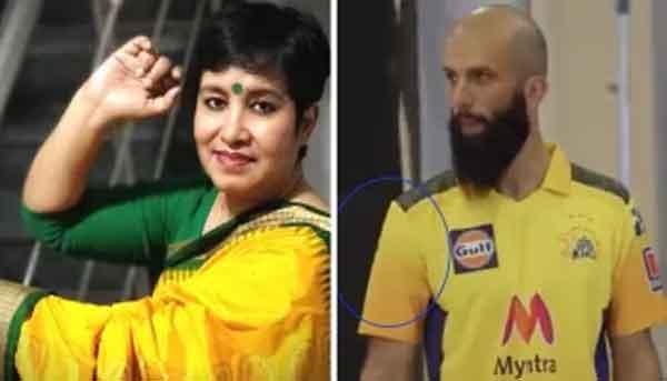News, National, India, Mumbai, Cricket, Sports, Writer, Player, Social Media, Twitter, England Cricketers Slam Taslima Nasreen For 'Disgusting' Tweet On Moeen Ali