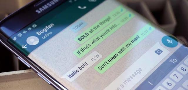 Mengubah Ukuran Font WhatsApp Android
