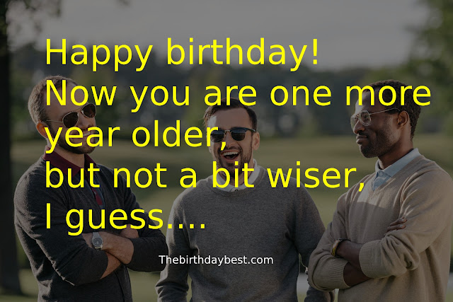 Birthday Wishes for Men