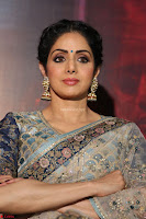 Sri Devi in designer saree stunning beauty at the launch of MOM movie Trailer~  Exclusive 084.JPG