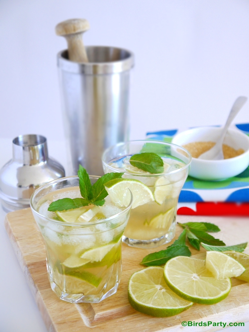 Tequila Caipirinha Cocktail  Recipe