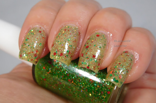 Shinespark Polish O Christmas Tree when hot