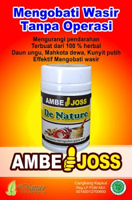 Obat Ambeyen Dan wasir Ambe Joss Salep Salwa De Nature Indonesia