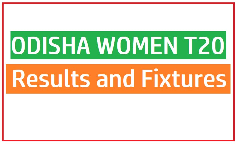 Odisha women t20 Results and Fixtures 2021