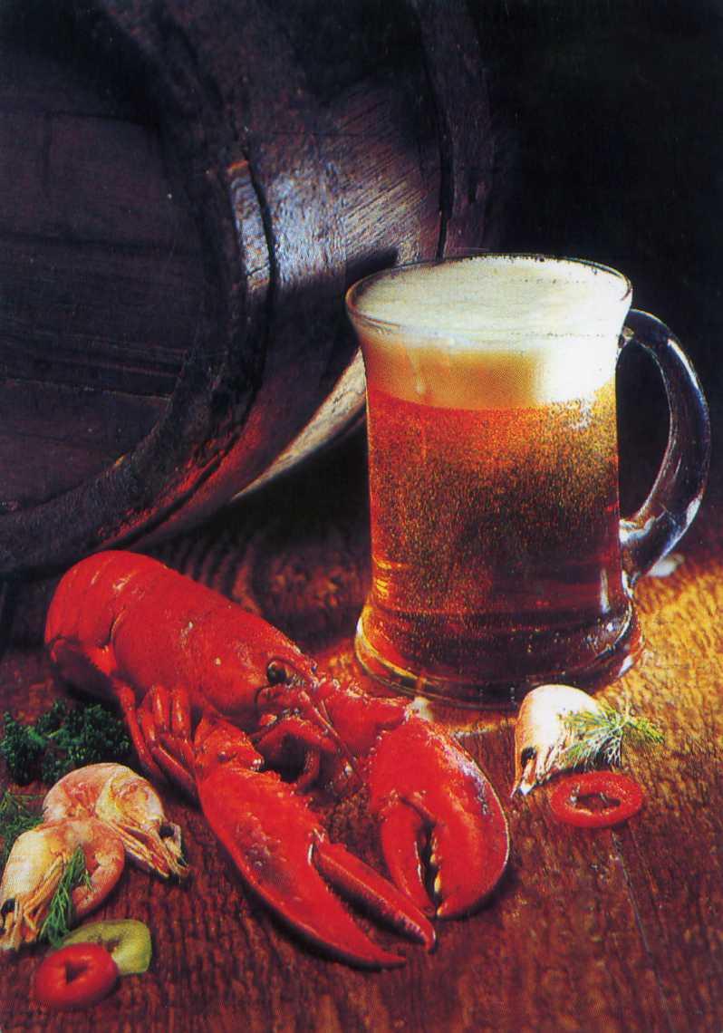 Поздравление к банке пива предоставляет