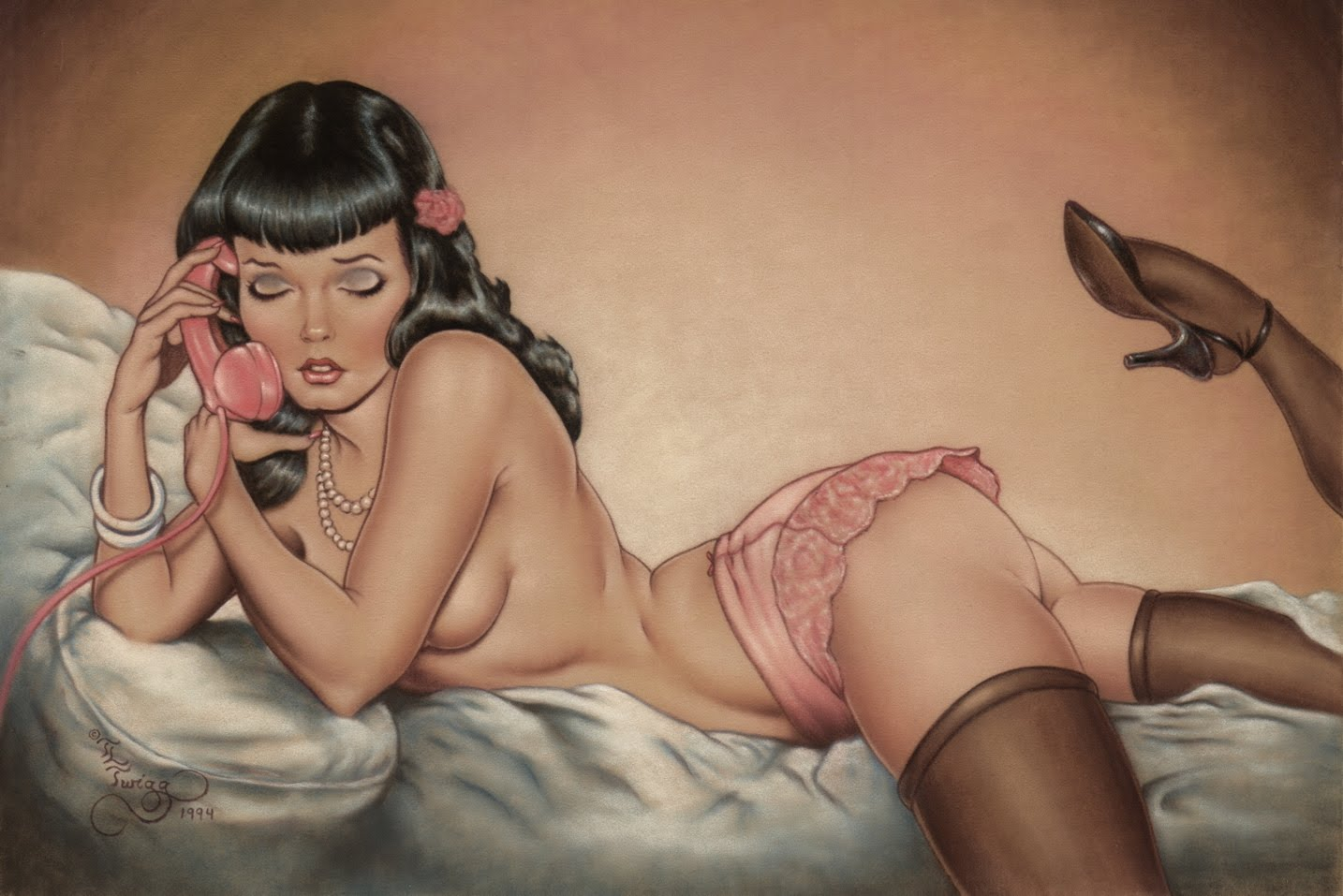 BETTIE PAGE'S SECRET LIFE AS AN UNDERCOVER OPERATIVE IN 1950S HOLLYWOOD HAS BEEN DECLASSIFIED!