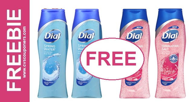 FREE Dial Body Wash CVS Deal 12/8-12/14