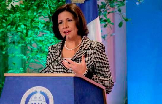 Margarita Cedeño no frena sus trabajos en el Palacio