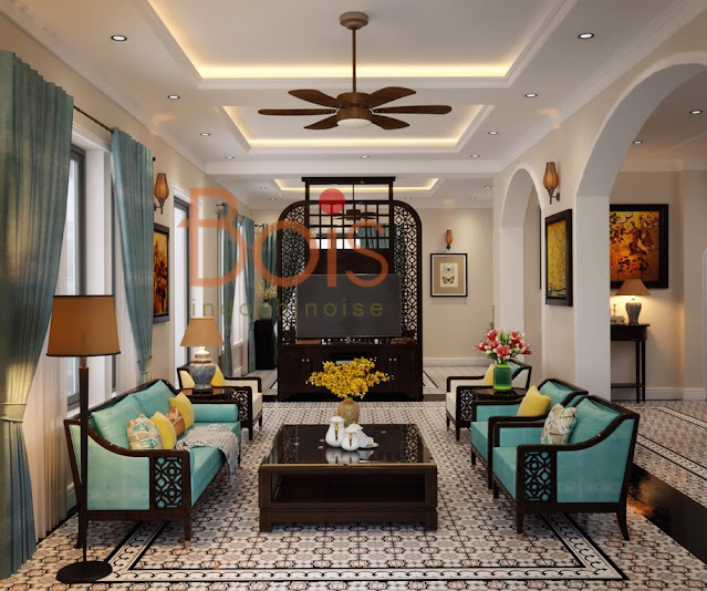 Các mẫu nhà thiết kế phong cách Đông Dương Indochine