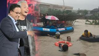 Semarang Banjir Jakarta Tidak, Warganet: Buzzerp Kapan Ngebacot?