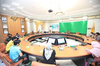 Rapat Sosialisasi Syarat dan Ketentuan Kegiatan Olahraga dalam Masa Pelonggaran PSBB - Tarakan Info