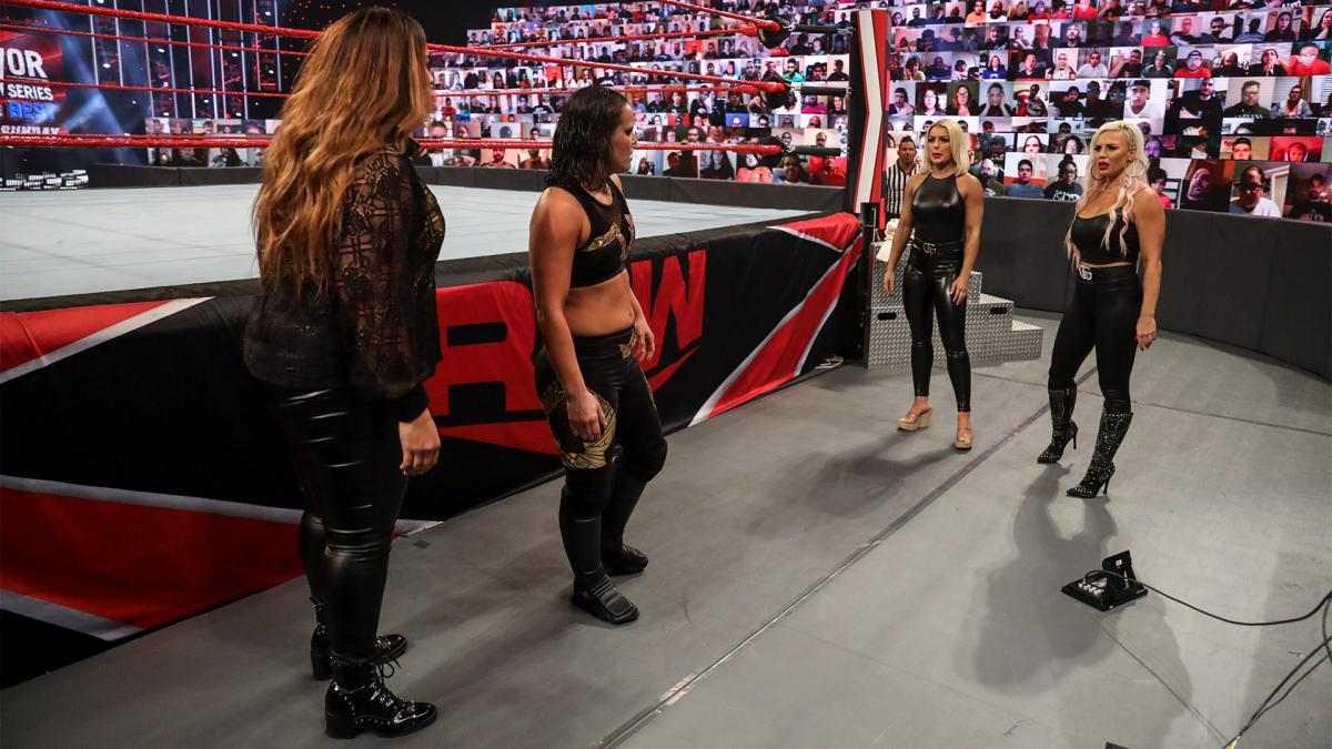 Time Feminino do RAW para o WWE Survivor Series perde dois nomes