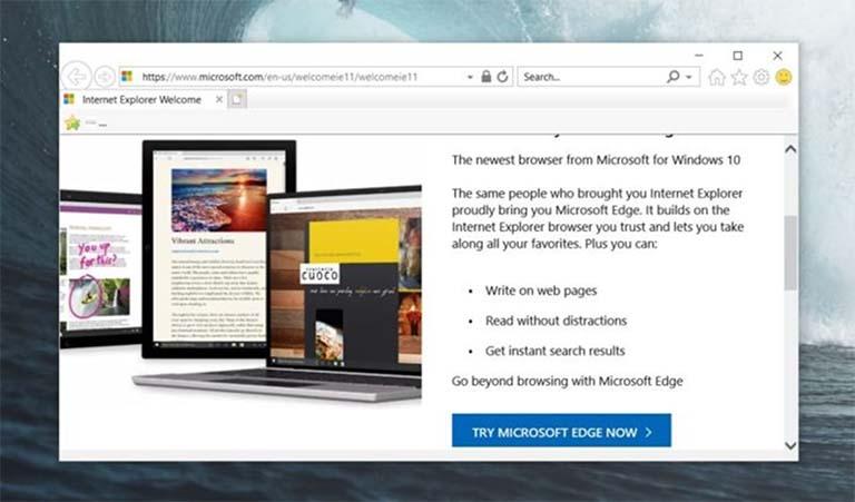 Microsoft Tidak Punya Rencana Untuk Menghapus Internet Explorer Di Windows 10