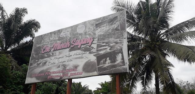 Papan Tanda Taman Rekreasi Che Minah Sayang