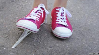 How to get gum off a shoe