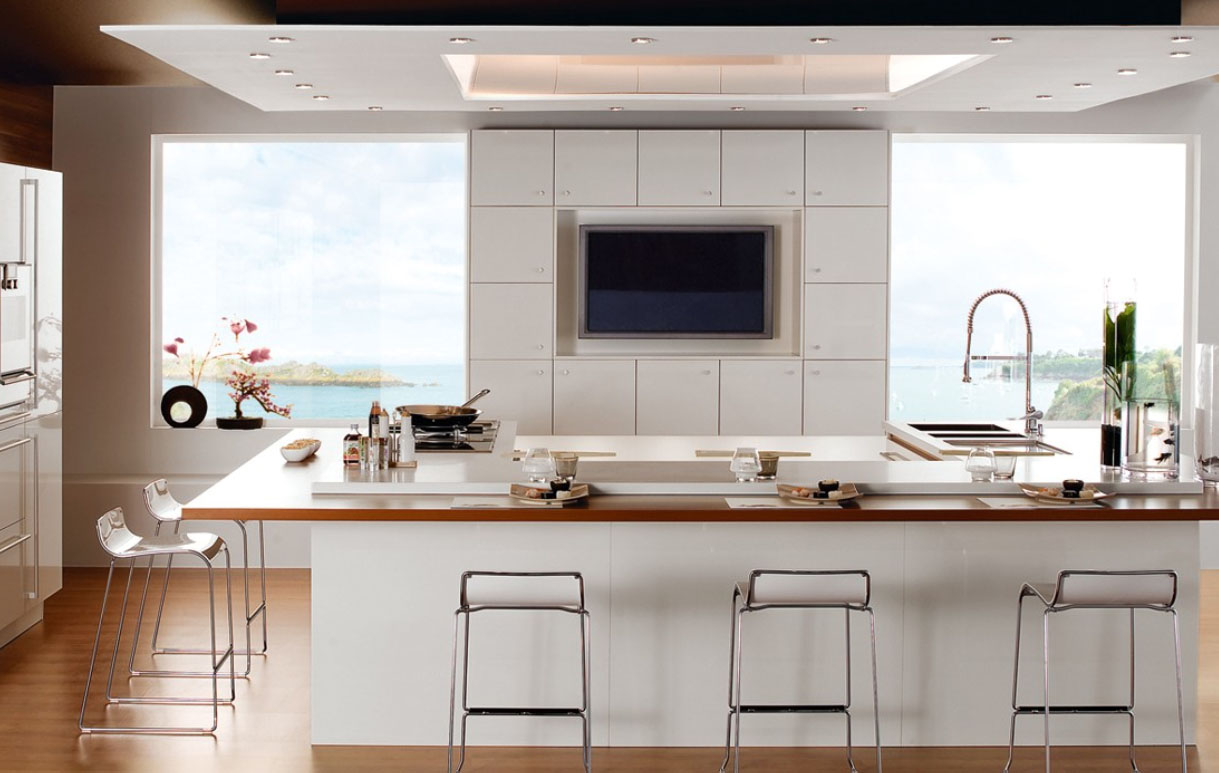 Beautiful Kitchen Cabinets Desk Most And Modern Kitchens Designs Wallpaper Photos