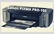Canon PIXMA PRO-10S Driver Softwar Free Download