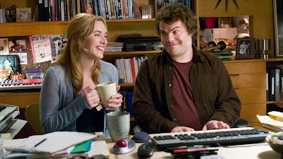 Kate Winslet and Jack Black The Holiday 2006