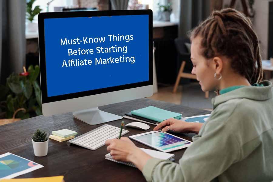 Starting Affiliate Marketing