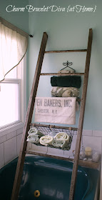 Our Hopeful Home Diy Pottery Barn Bath Storage Ladder