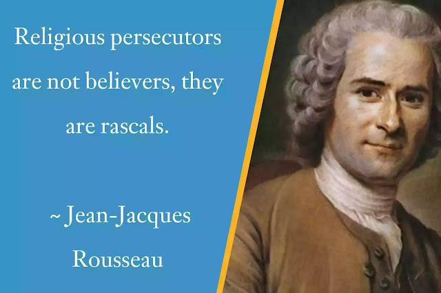 Jean-Jacques Rousseau Religious Quotes