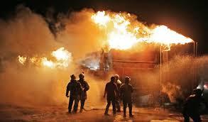 Oil refinery attacks