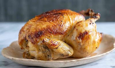 طريقة عمل الدجاج المشوي في الفرن الكهربائي