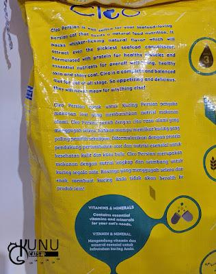 Review Makanan Cleo Persian 7kg