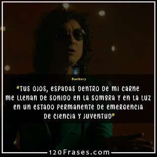 Bunbury en video deseos de usar y tirar