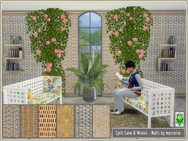 Стены с деревянным покрытием для The Sims 4 со ссылками на скачивание