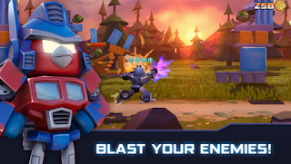 Angry Birds Transformers v1.24.10 Mod Unlocked Apk With Data