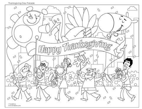 transmissionpress: 7 Picture for Thanksgiving Coloring Pages