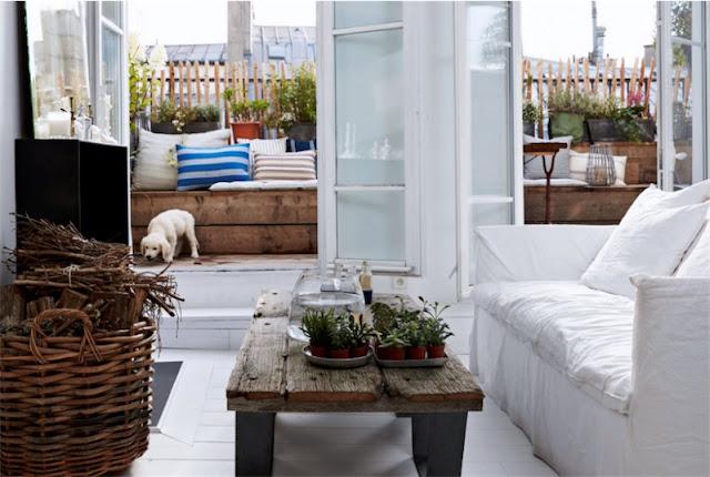el interior de un apartamento en paris chicanddeco blog