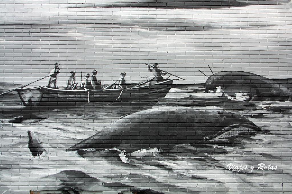 Mural de la tala de Bermeo