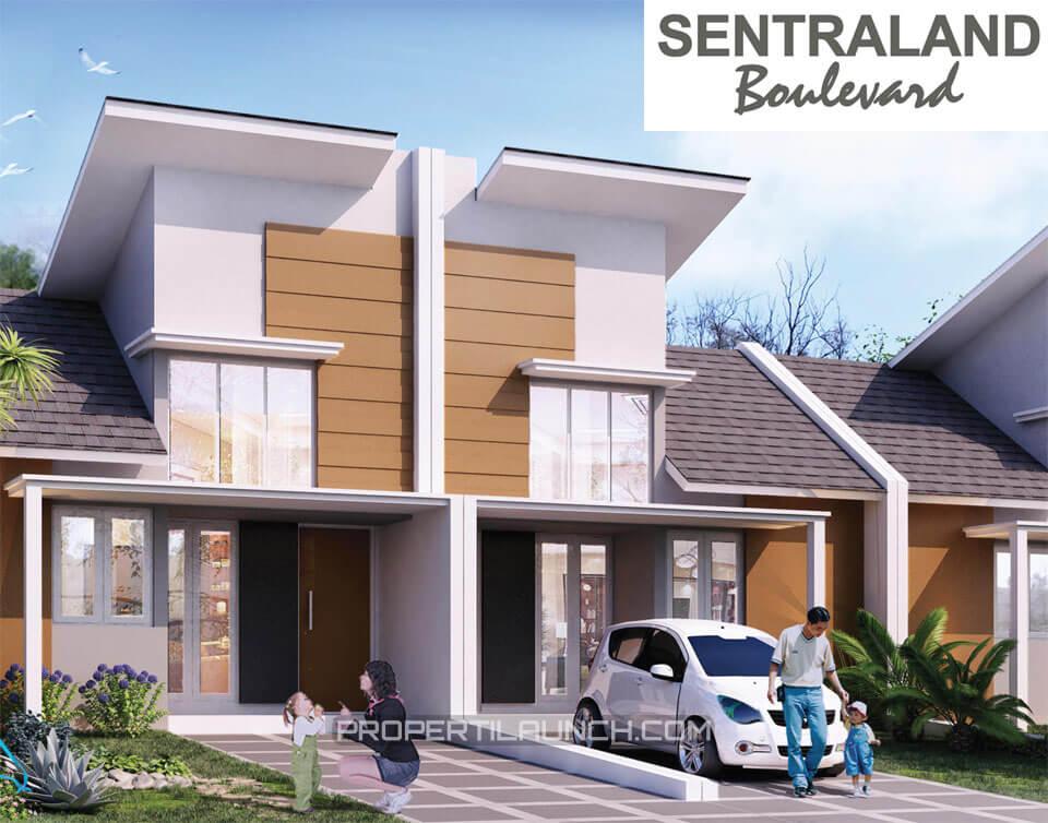 Dijual rumah Sentraland Boulevard